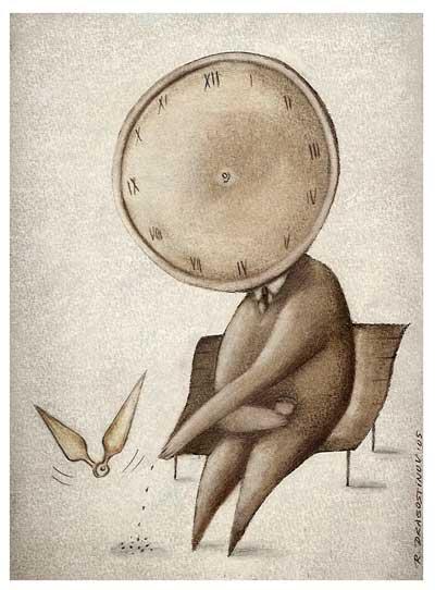 کاریکلماتور زمان